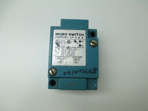 New micro switch lzz21 honeywell body 125-250v-ac 10a amp switch d382658