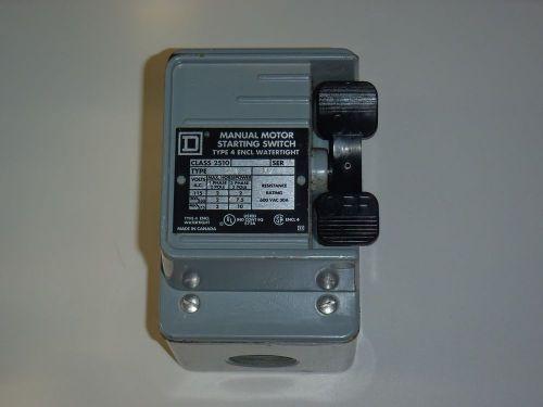 Westinghouse b 100s0c motor starter for Manual motor starter switch