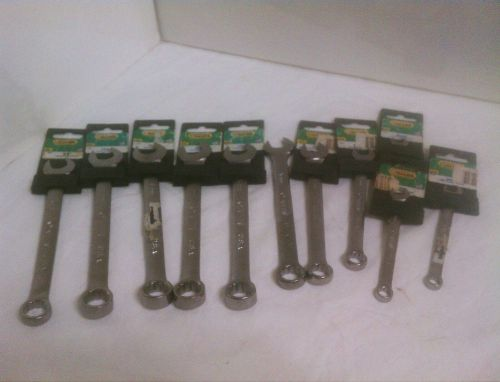 Allen combination s.a.e  and m.m wrench 11pc set,usa