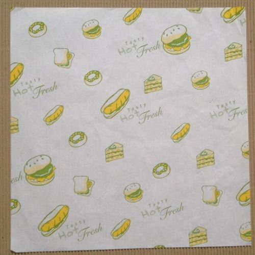 French fries sandwich burger wrap food grade wrap mat fda certificated