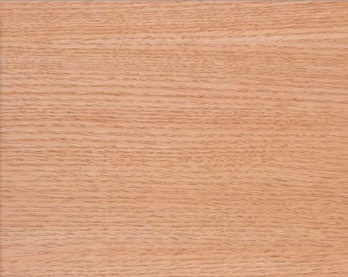 Red oak wood veneer plain sliced paper backer backing 4' x 8' sheet