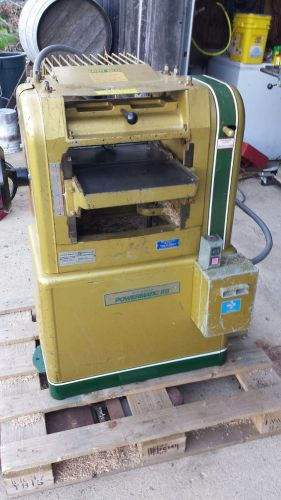 Powermatic 100 planer 3ph 3 hp 12