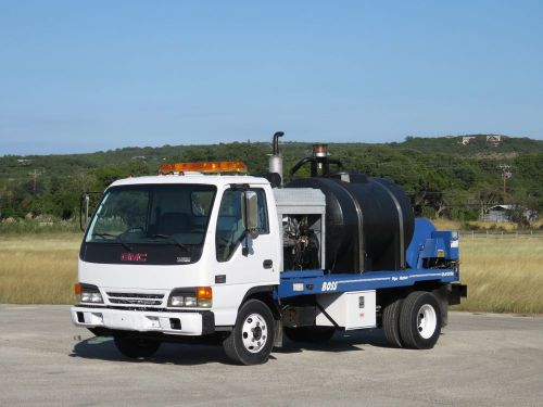 Gmc w4500 sewer jetter hydro pumper, 1-owner, see video!