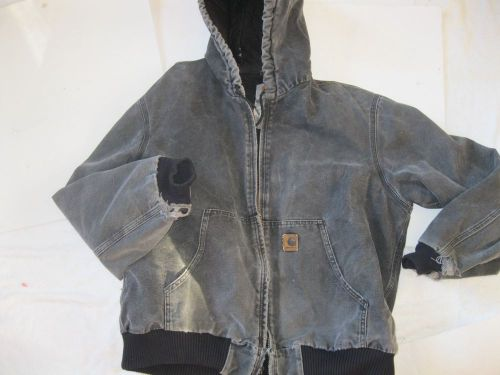 Awesome vintage mens carhartt heavy duty western jacket size l