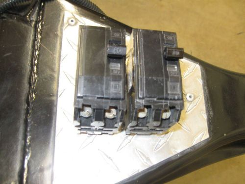 Square D QO220- 20 Amp 2 Pole Breakers(lot of 2) Price Reduced !!!, US $28.00 � Picture 1