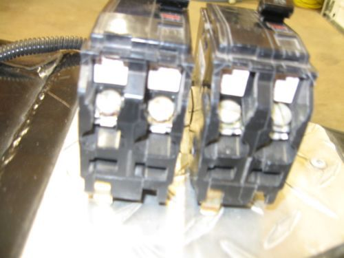 Square D QO220- 20 Amp 2 Pole Breakers(lot of 2) Price Reduced !!!, US $28.00 � Picture 2