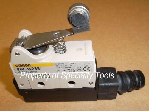 Omron shl-w255 industrial limit switch spst roller actuator automation robotics