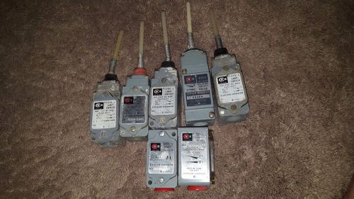 Cutler hammer limit switch lot 600 volt made in usa