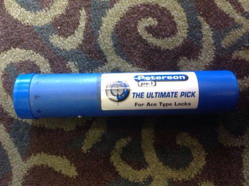 Peterson Pro 1 Tubular Lock Pick The Ultinmate Pick