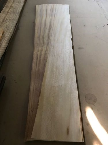 "Wood veneer american sycamore 6x50 18pcs total raw veneer ""exotic"" syc1 11-17-16"