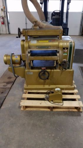 Powermatic 180 planer