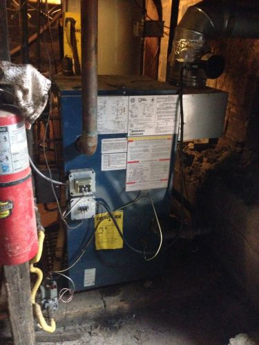 Utica Steam Boilers Peg187cde Used Not Working