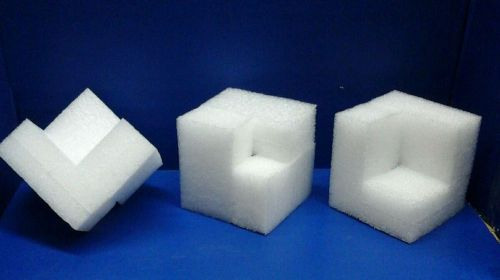 Styrofoam corner blocks,  packing, shipping