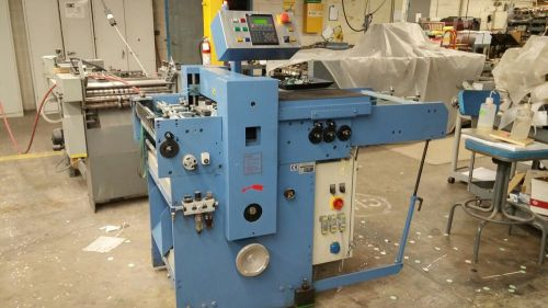 Bograma bs multi 450 in-line die-cutter - perfect condition