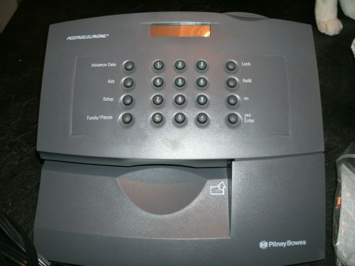 Pitney bowes e707 series postage meter