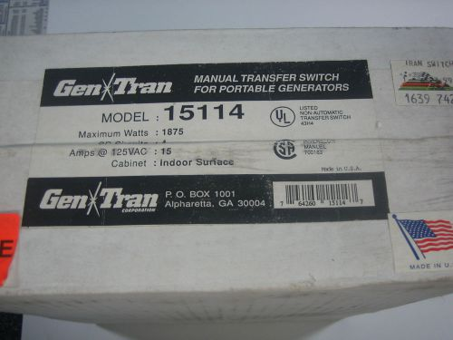 New Reliance Tf151w 1 Circuit Generator Transfer Switch Kit Sale Price