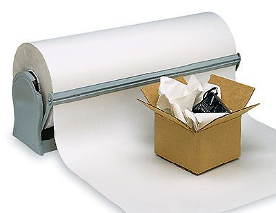 "12"" x 1700' newsprint wrapping paper on a roll (30 lb.) (1 roll)"