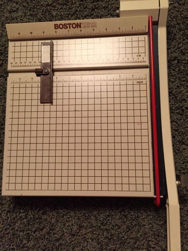"New boston 2612 12"" heavy duty paper cutter trimmer scrapbook"