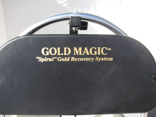 Gold magic spiral gold recovery system, gold pans,  free shipping