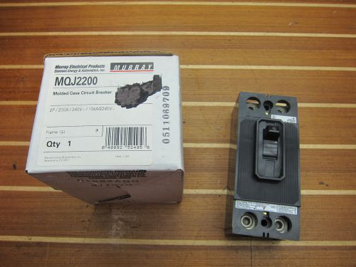 Siemens murray mqj2200 mqj 200 amp molded case circuit breaker new