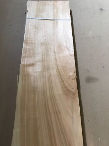 "Wood veneer yew 7x40 22pcs total raw veneer  ""exotic""  yew1 11-17-16"