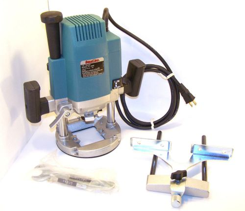 Cyber sale freud plunge router ft 2000 3 1/4 hp w/ fence guide 1/2 / 1/4  collet