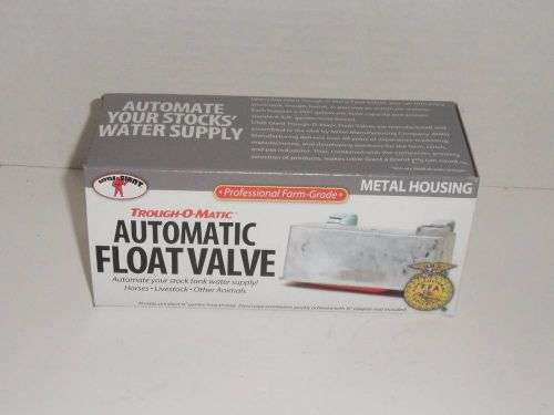 Little giant tm830 metal automatic float valve livestock trough nos
