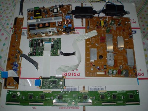 Samsung PN51E450A1F TV Repair Kit Power Main Board T-Con Speakers