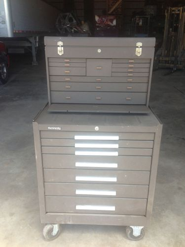 Genuine kennedy 11 drawer and 7 drawer tool sotrage cabinets with casters