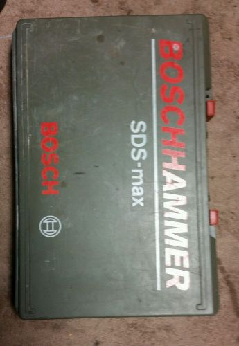 Bosch 11311evs sds-max demolition hammer drill commercial heavy duty grade tool