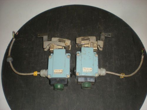Lot of (2) Telemecanique XY2-CC122 Trip Wire Limit Switches - Test OK � Picture 1