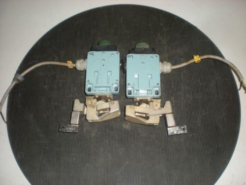 Lot of (2) Telemecanique XY2-CC122 Trip Wire Limit Switches - Test OK � Picture 2