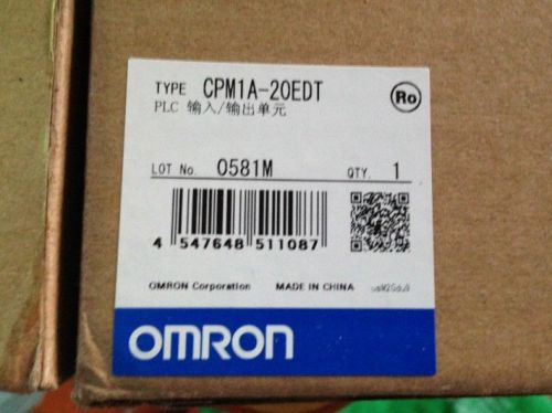 Omron plc cpm1a-20edt1  new in box