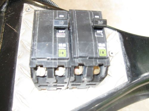 Square d qo230- 30 amp 2 pole breaker( lot of 2)