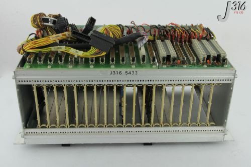 5433 schroff pcb card cage back panel, tvb6004-1, tvb3401-1 (parts) 23000-020