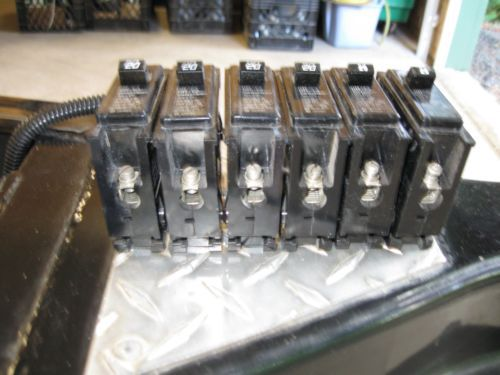 Challenger C120- 20 Amp 1 Pole Breakers- ( Lot of 6), US $26.00 � Picture 2