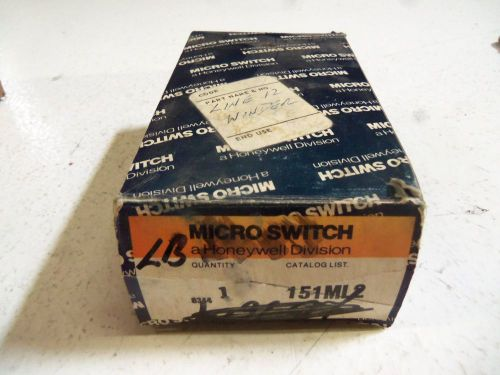 Microswitch 151ml2 precision limit switch *new in box*