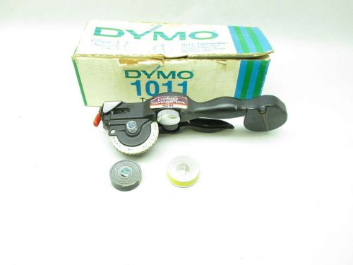 NEW DYMO 1011 TAPEWRITER MANUAL LABEL MAKER D457658
