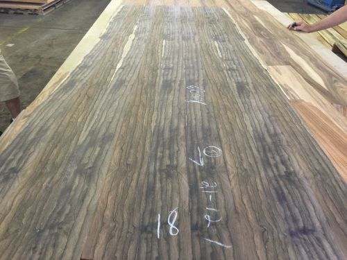"Wood veneer ziricote 36x98 1 piece 10mil paper backed ""exotic"" ali 18"