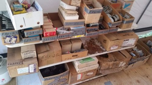 Electrical supplies - large lot of assorted fittings, wire, plugs etc.