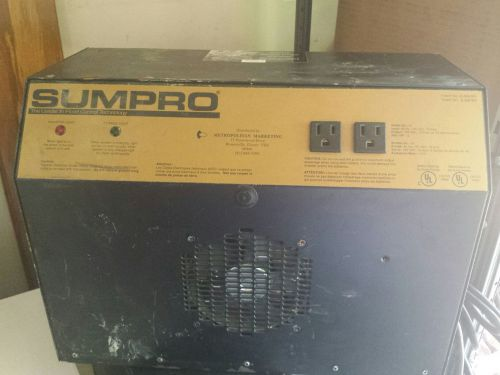 Sumpro fully-automatic auxiliary power source w/ 2 interstate batteries